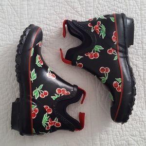BOGS Harper Fruit Cherry Print Rainboots 6